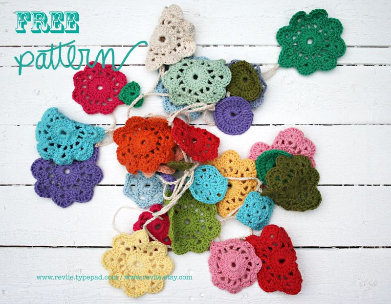 More Garlands Banners And Buntings To Crochet Free Patterns Grandmother S Pattern Book