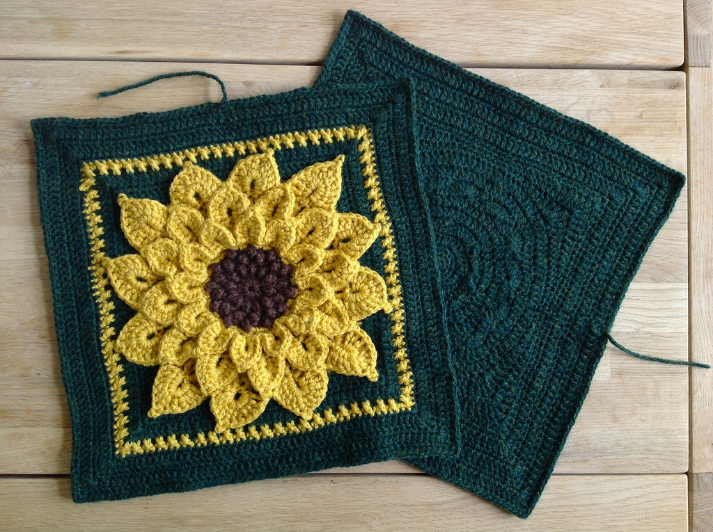 More Sunflowers To Crochet 24 Free