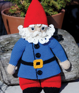 Free Amigurumi Gnome Toy Softies Crochet Patterns | 300x253