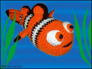 PDF Crochet Pattern CLOWN FISH (English only) | Crochet fish ... | 226x300