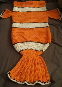 Crochet PATTERN No 1801 Orange clown fish by Krawka in 2020 (With ... | 300x213