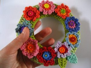 Crochet For Spring Wreaths Buntings And Banners 21 Free Patterns Grandmother S Pattern Book