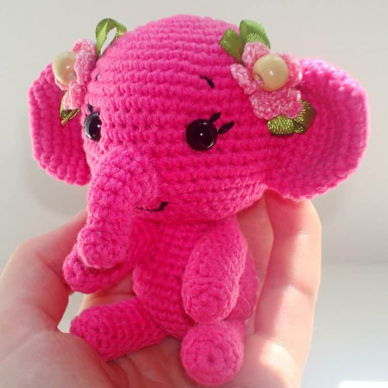 Amigurumi Little Elephant Free Pattern | 800x800