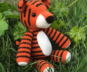Crochet Sweet Bear in Dress Free Plush Pattern | 248x298