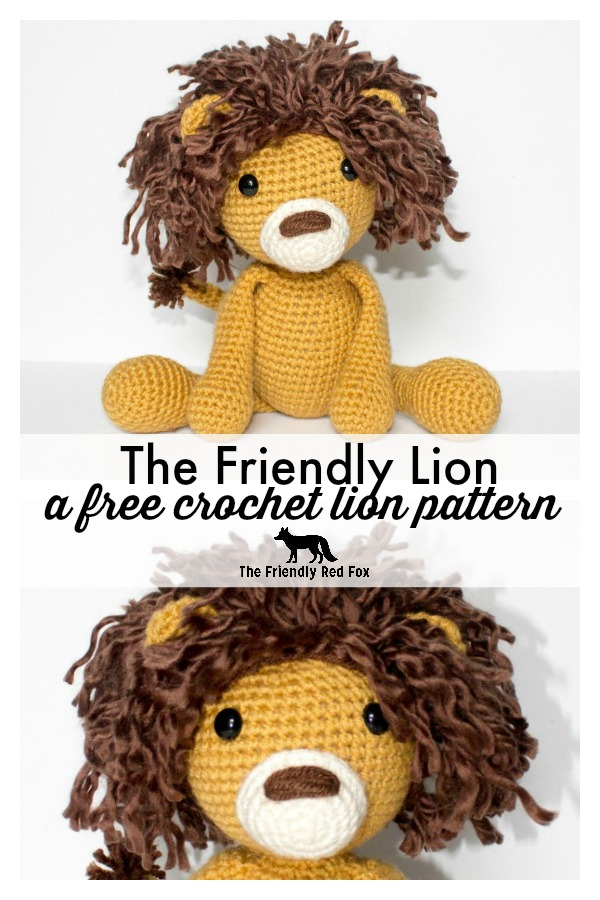 How To Crochet A Lion - YouTube | 900x600